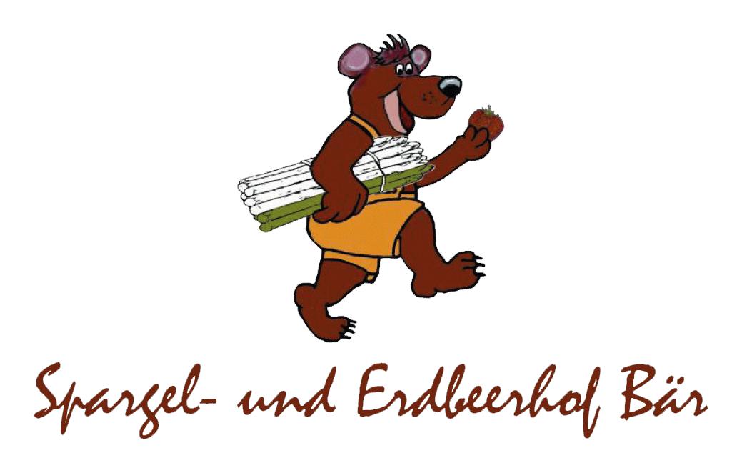 Logo mit Schrift Spargel- und Erdbeerhof Baer
